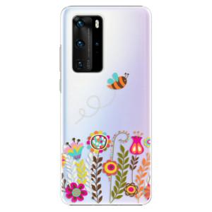 Plastové pouzdro iSaprio - Bee 01 - na mobil Huawei P40 Pro
