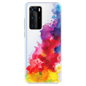 Plastové pouzdro iSaprio - Color Splash 01 - na mobil Huawei P40 Pro