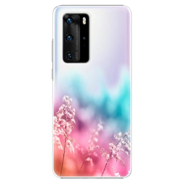Plastové pouzdro iSaprio - Rainbow Grass - Huawei P40 Pro