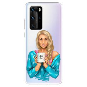 Plastové pouzdro iSaprio - Coffe Now - Blond - na mobil Huawei P40 Pro