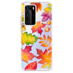 Plastové pouzdro iSaprio - Autumn Leaves 01 - na mobil Huawei P40 Pro