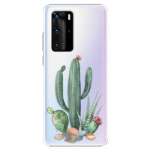 Plastové pouzdro iSaprio - Cacti 02 - na mobil Huawei P40 Pro