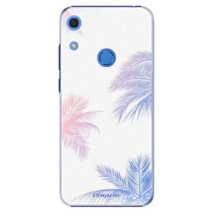 Plastové pouzdro iSaprio - Digital Palms 10 - na mobil Huawei Y6s