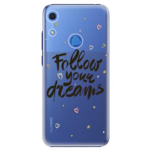 Plastové pouzdro iSaprio - Follow Your Dreams - black - na mobil Huawei Y6s
