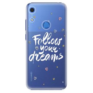 Plastové pouzdro iSaprio - Follow Your Dreams - white - na mobil Huawei Y6s