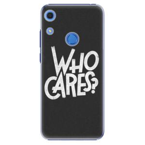 Plastové pouzdro iSaprio - Who Cares - na mobil Huawei Y6s