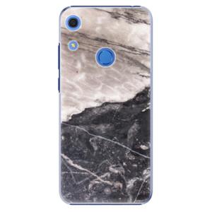 Plastové pouzdro iSaprio - BW Marble - na mobil Huawei Y6s