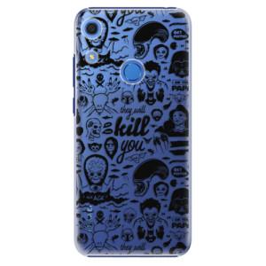 Plastové pouzdro iSaprio - Comics 01 - black - na mobil Huawei Y6s
