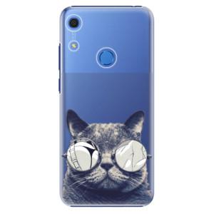 Plastové pouzdro iSaprio - Crazy Cat 01 - na mobil Huawei Y6s