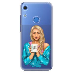 Plastové pouzdro iSaprio - Coffe Now - Blond - na mobil Huawei Y6s