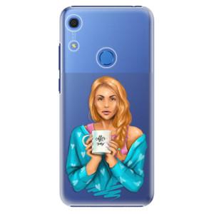 Plastové pouzdro iSaprio - Coffe Now - Redhead - na mobil Huawei Y6s