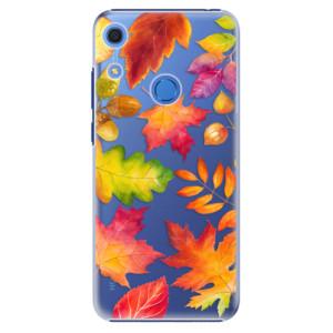 Plastové pouzdro iSaprio - Autumn Leaves 01 - na mobil Huawei Y6s