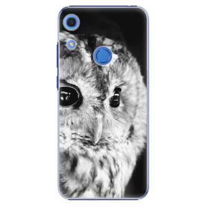 Plastové pouzdro iSaprio - BW Owl - na mobil Huawei Y6s