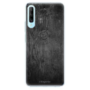 Plastové pouzdro iSaprio - Black Wood 13 - na mobil Huawei P Smart Pro