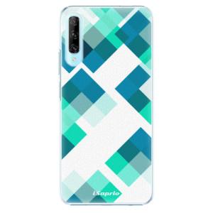 Plastové pouzdro iSaprio - Abstract Squares 11 - na mobil Huawei P Smart Pro