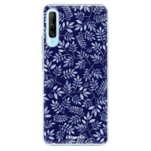 Plastové pouzdro iSaprio - Blue Leaves 05 - na mobil Huawei P Smart Pro