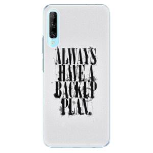 Plastové pouzdro iSaprio - Backup Plan - na mobil Huawei P Smart Pro