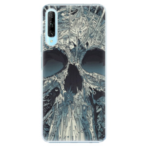 Plastové pouzdro iSaprio - Abstract Skull - na mobil Huawei P Smart Pro