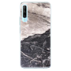 Plastové pouzdro iSaprio - BW Marble - na mobil Huawei P Smart Pro