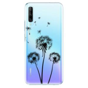Plastové pouzdro iSaprio - Three Dandelions - black - na mobil Huawei P Smart Pro