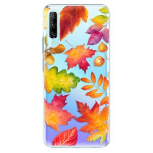 Plastové pouzdro iSaprio - Autumn Leaves 01 - na mobil Huawei P Smart Pro