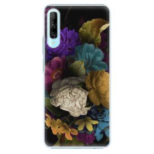 Plastové pouzdro iSaprio - Dark Flowers - na mobil Huawei P Smart Pro