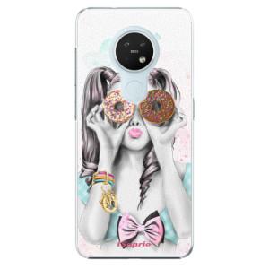 Plastové pouzdro iSaprio - Donuts 10 - na mobil Nokia 7.2