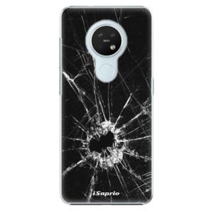 Plastové pouzdro iSaprio - Broken Glass 10 - na mobil Nokia 7.2