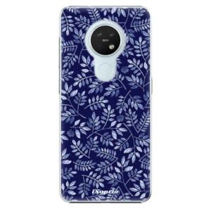 Plastové pouzdro iSaprio - Blue Leaves 05 - na mobil Nokia 7.2