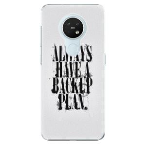 Plastové pouzdro iSaprio - Backup Plan - na mobil Nokia 7.2