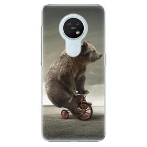 Plastové pouzdro iSaprio - Bear 01 - na mobil Nokia 7.2