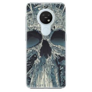 Plastové pouzdro iSaprio - Abstract Skull - na mobil Nokia 7.2