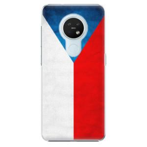 Plastové pouzdro iSaprio - Czech Flag - na mobil Nokia 7.2