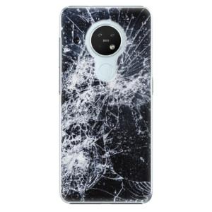 Plastové pouzdro iSaprio - Cracked - na mobil Nokia 7.2