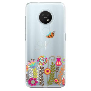 Plastové pouzdro iSaprio - Bee 01 - na mobil Nokia 7.2