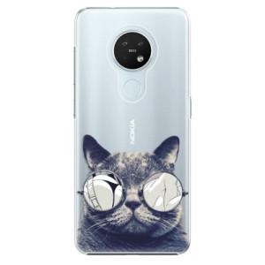 Plastové pouzdro iSaprio - Crazy Cat 01 - na mobil Nokia 7.2