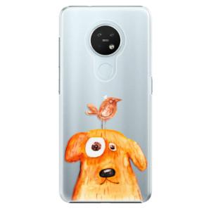 Plastové pouzdro iSaprio - Dog And Bird - na mobil Nokia 7.2