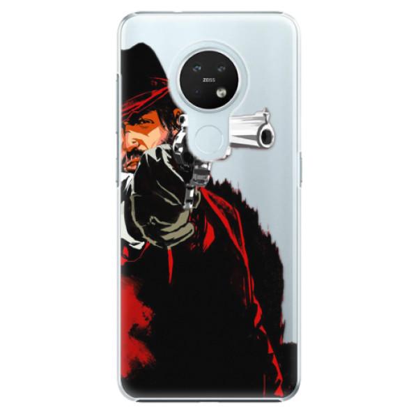 Plastové pouzdro iSaprio - Red Sheriff - Nokia 7.2