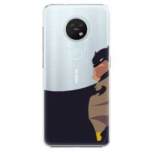 Plastové pouzdro iSaprio - BaT Comics - na mobil Nokia 7.2