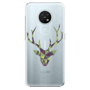 Plastové pouzdro iSaprio - Deer Green - na mobil Nokia 7.2