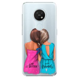 Plastové pouzdro iSaprio - Best Friends - na mobil Nokia 7.2