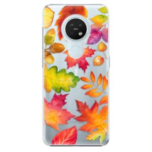 Plastové pouzdro iSaprio - Autumn Leaves 01 - na mobil Nokia 7.2