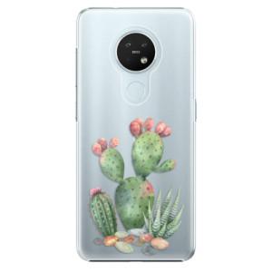 Plastové pouzdro iSaprio - Cacti 01 - na mobil Nokia 7.2