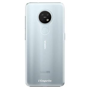 Plastové pouzdro iSaprio - 4Pure - mléčné bez potisku - na mobil Nokia 7.2