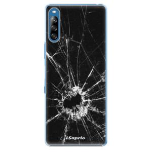 Plastové pouzdro iSaprio - Broken Glass 10 - na mobil Sony Xperia L4