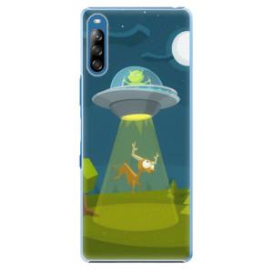Plastové pouzdro iSaprio - Alien 01 - na mobil Sony Xperia L4