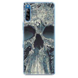 Plastové pouzdro iSaprio - Abstract Skull - na mobil Sony Xperia L4
