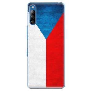 Plastové pouzdro iSaprio - Czech Flag - na mobil Sony Xperia L4
