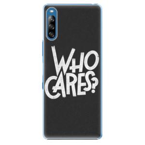 Plastové pouzdro iSaprio - Who Cares - na mobil Sony Xperia L4