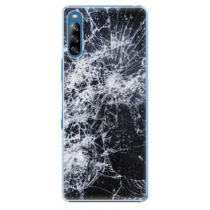 Plastové pouzdro iSaprio - Cracked - na mobil Sony Xperia L4